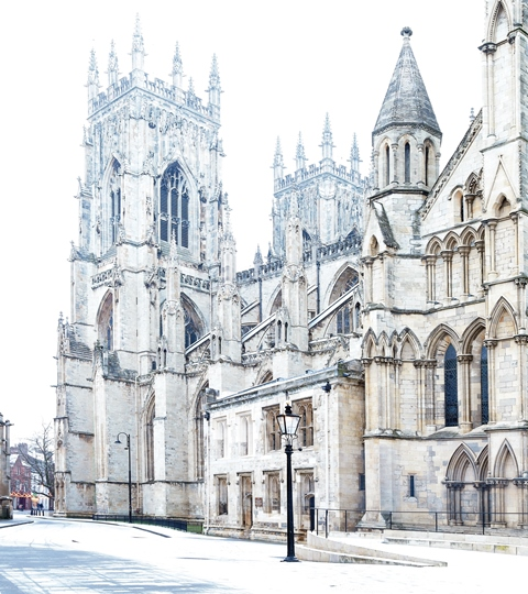 York Minster South Front Christmas Card
