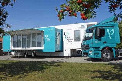 York Against Cancer Mobile chemo unit