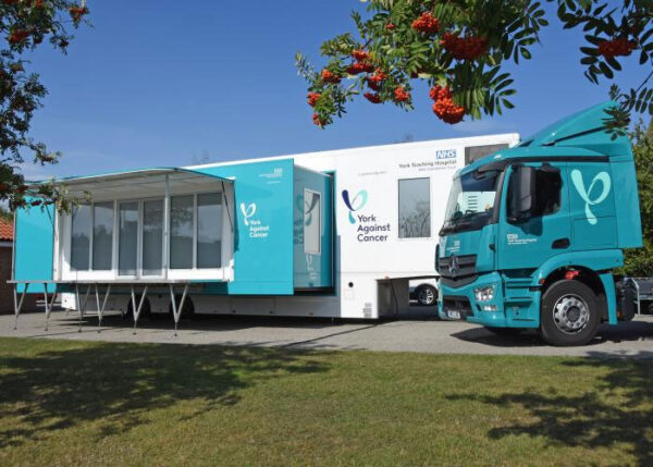 York Against Cancer Mobile chemo unit