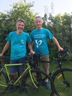 Steve Corrigan and Martin Richardson